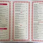 Take Away Menu 1