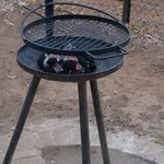 the braai that's provided with your accommodation