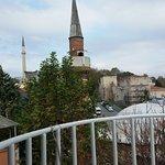 Vistas a Aya Sophia desde la terraza