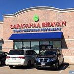 Sarvanna Bhavan in Houston .....outside view.