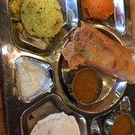 Combo 1 has idli, mini masala dosa,rawa khichdi and rawa sheera