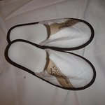 Slippers with turndown service.