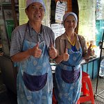 Lovely deaf couple who run the cafe