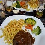 fillet steak and sirloin steak