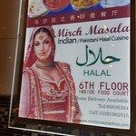 Restaurant serving Halal food