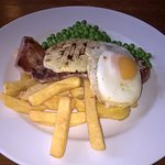 gammon and chips
