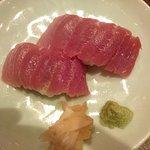Gion Wasabi Fatty Toro [tuna] Nigiri