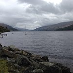 Loch Earn, from The Clachan car park