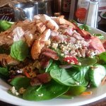 Superfood salad with chicken and bacon..Truly delicious.*****