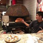 Authentic Naples pizza oven
