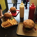 Burger happiness