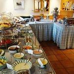 Frühstücksbuffet mit vielen, feinen Extras