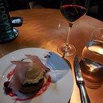A memorable MARK cranberry & almond tart