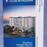 Wyndham Vacation Resorts Majestic Sun is bldg perpendicular to ocean.