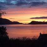 Sunset from Inverie toward Mallaig