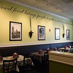 Chicken Salad Chick walls: 'Good food brings people together and nourishes the soul.