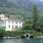 George Clooney's villa in Lake Como