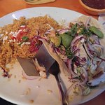 Grilled Redfish tacos, yummy