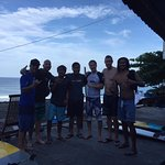 My surf group and coaches
