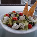 Tche Tche Cafe, Qurum Beach, Muscat, Oman, Greek Salad