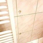 """Auch im Bad gibt es """"unschöne"""" Stellen..."""