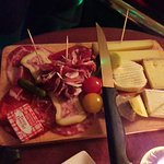 Planchette mixte (fromage-charcuterie)