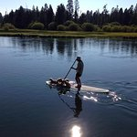 SUP on the Deschutes by Big River CG