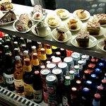 Order taking station (also taken at table) dessert/beverage case