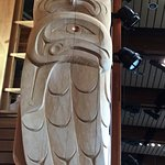 One of the many beautiful totems in the Centre.