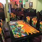 New tables and booths