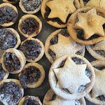 christmas mince pies for the festive season
