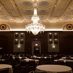 large, gorgeous ballroom