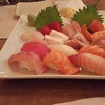 """Love boat"" nigiri/sashimi combo"