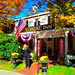 Colonial Inn during Fall
