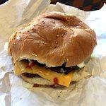 A Double Barrie Burger