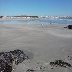 View of Paternoster Beach from Mosselbank.