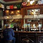 Pogue Mahones Irish pub.