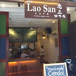 This is Lao San Cafe