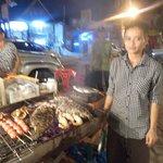 Night Food marketの写真