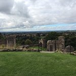 Beautiful and strategic views of the countryside from the castle