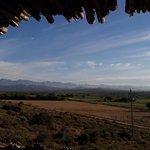 View East towards Oudtshoorn from veranda