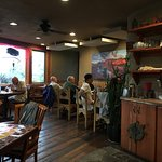 More inside dining at Xetava Gardens Cafe