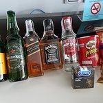 Part of mini bar....incl condoms!!! :-D