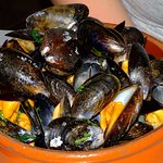 Loch Leven Mussels cooked in cider