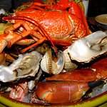 Shellfish Platter on ice for two