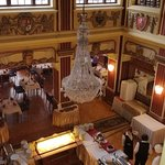 Part of the restaurant