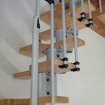 La scala per il soppalco camera n. 4