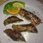 Lachs und Pangasius vom Grill (mit Salat)