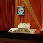 Velvet Curtain and Wurlitzer