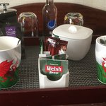 What better than dragon mugs in Wales